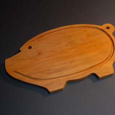 """Cutting board """"Piglet"""""""