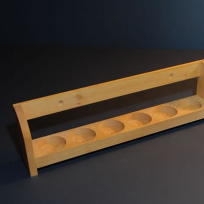 Rack for spice bottles 3×6