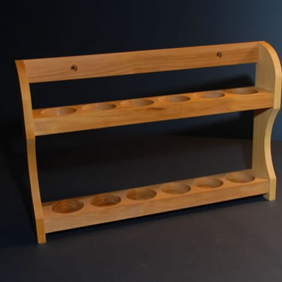 Rack for spice bottles 2×6