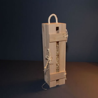 Wine bottle presentation box (1 bottle)