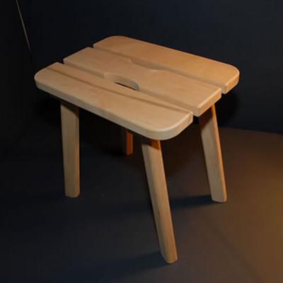 Sauna bench (natural)